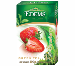 EDEMS STRAWBERRY FLAVORED GREEN TEA