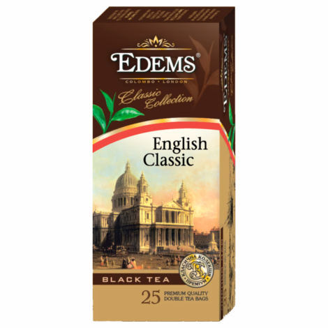EDEMS ENGLISH CLASSIC TEA IN TEA BAGS