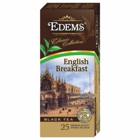 EDEMS ENGLISH BREAKFAST TEA IN TEA BAGS