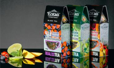 Нова ексклюзивна колекція чаю зі шматочками фруктів та ягід