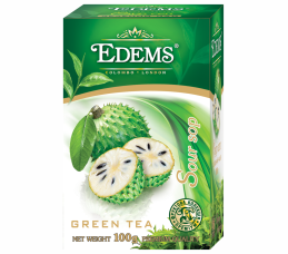 EDEMS SOURSOP FLAVORED GREEN TEA