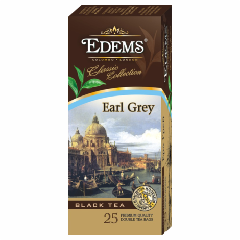 EDEMS EARL GREY TEA IN TEA BAGS