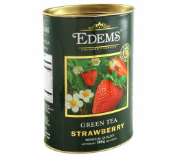 EDEMS STRAWBERRY GREEN TEA