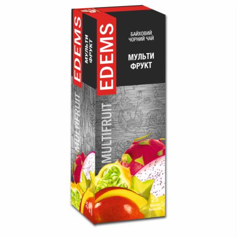 EDEMS MULTIFRUIT FLAVORED BLACK TEA IN TEA BAGS