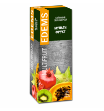 EDEMS MULTIFRUIT FLAVORED GREEN TEA IN TEA BAGS